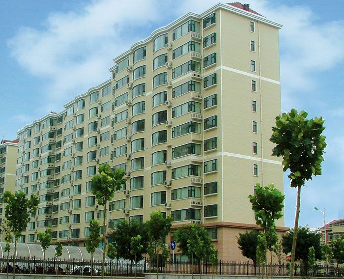 Weifang Municipal Public Security Bureau Traffic Police Detachment police officers Apartment - Mount Cup Award Project