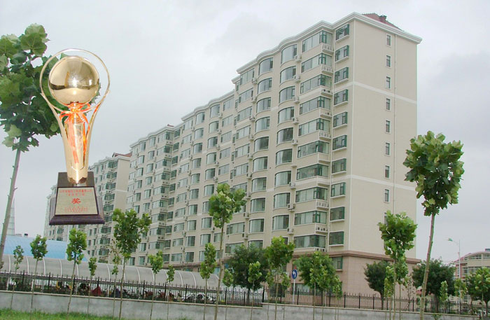 2006 Titan Cup Award project Weifang Traffic Police Detachment 2 # residential floor