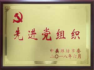 潍坊市先进党组织
